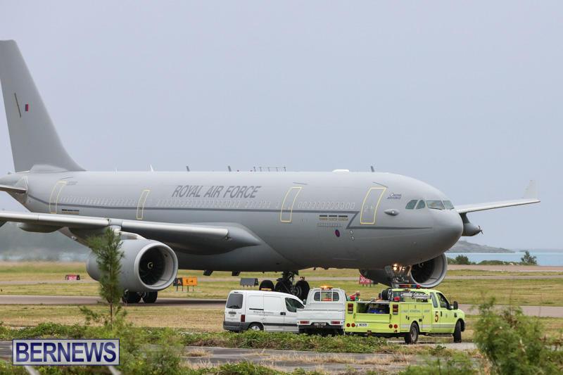Royal-Air-Force-RAF-Typhoon-A330-200-Voyager-Bermuda-January-6-2015-25