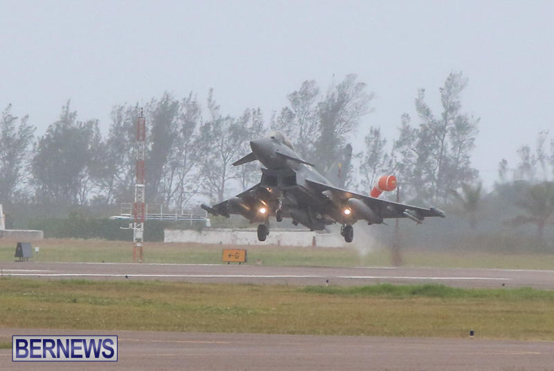 Royal-Air-Force-RAF-Typhoon-A330-200-Voyager-Bermuda-January-6-2015-9