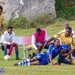 St David's vs Young Men Social Club Football Bermuda, January 11 2015-12