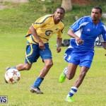 St David's vs Young Men Social Club Football Bermuda, January 11 2015-16