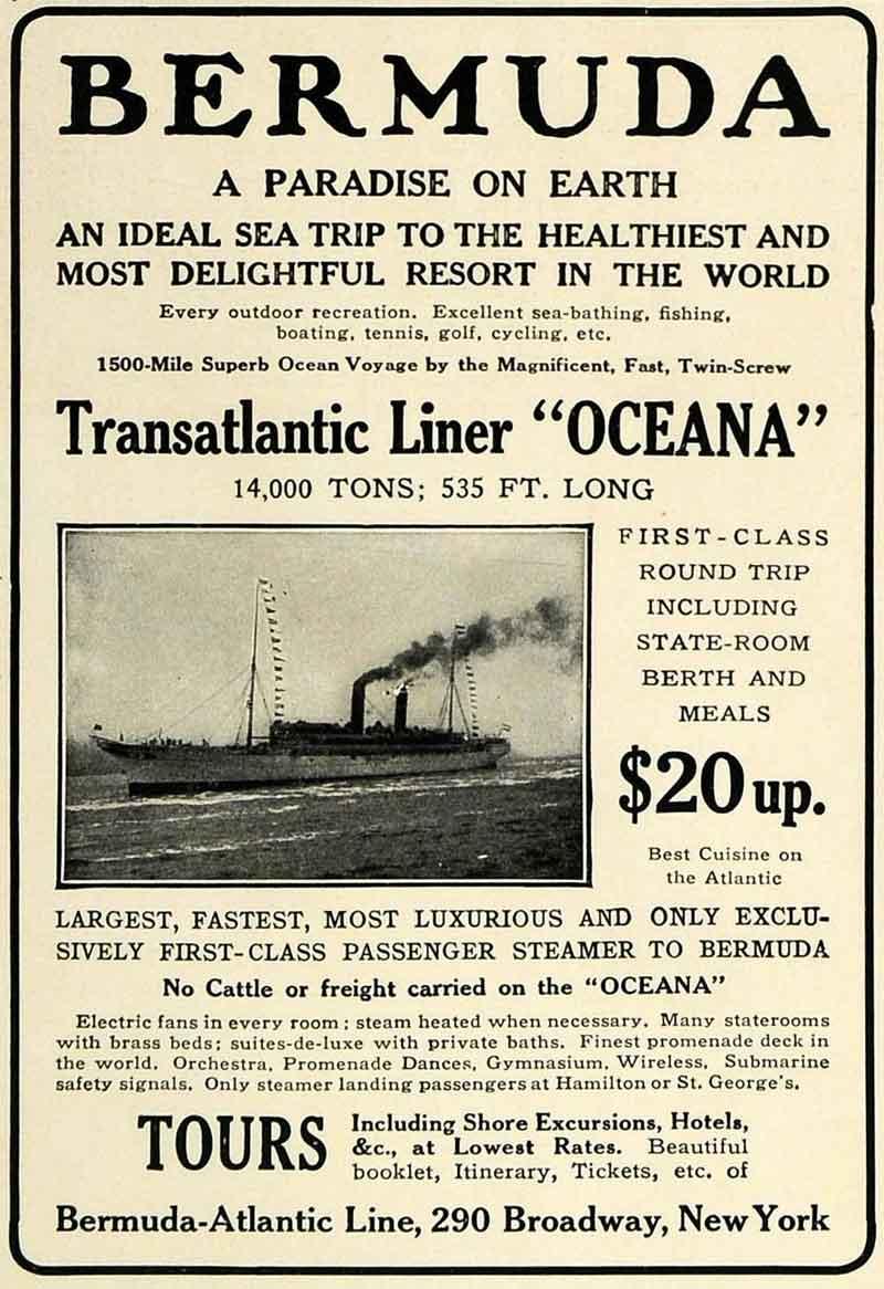 oceana 1912 ad