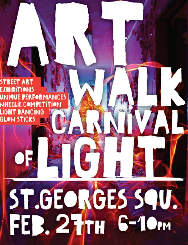 Art Walk Carnival of light - Feb 27 2015 (1)