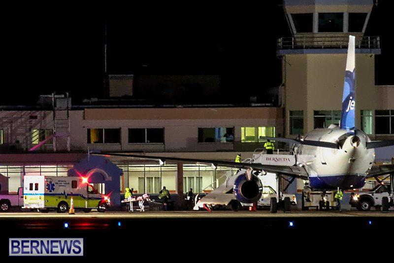 Plane Diversion Bermuda, February 16 2015-10