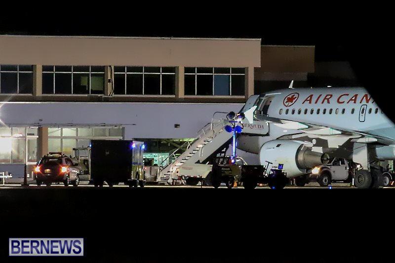 Plane Diversion Bermuda, February 16 2015-5