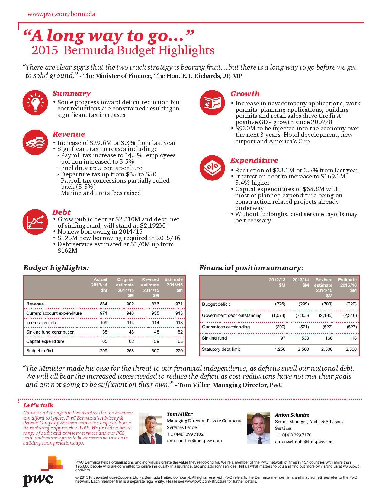 PwC 2015 Bermuda Budget Highlights-page-001