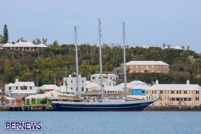 Sail Training Vessel Eendracht Bermuda, February 21 2015