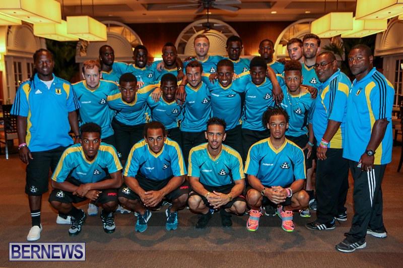 Bahamas Football Team at Hotel, March 26 2015-1