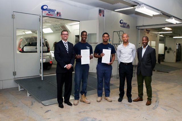 Bermuda Motors 2 apprentice
