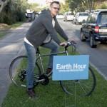 Earth Hour East Broadway Bermuda, March 27 2015-28