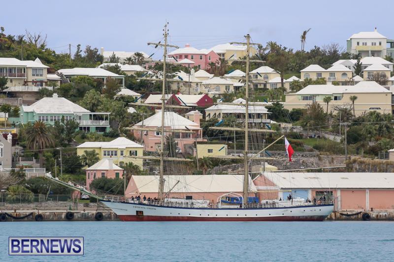 Fryderyk Chopin Tall Ship Bermuda, March 22 2015-2