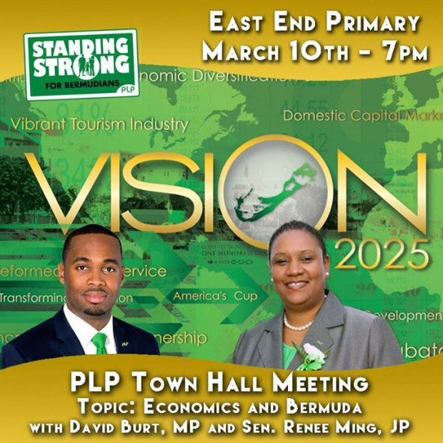 PLP town hall meeting vision 2025