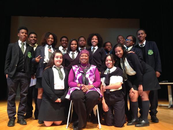 The Berkeley Players and Mwalimu Melodye Micere Van Putten -