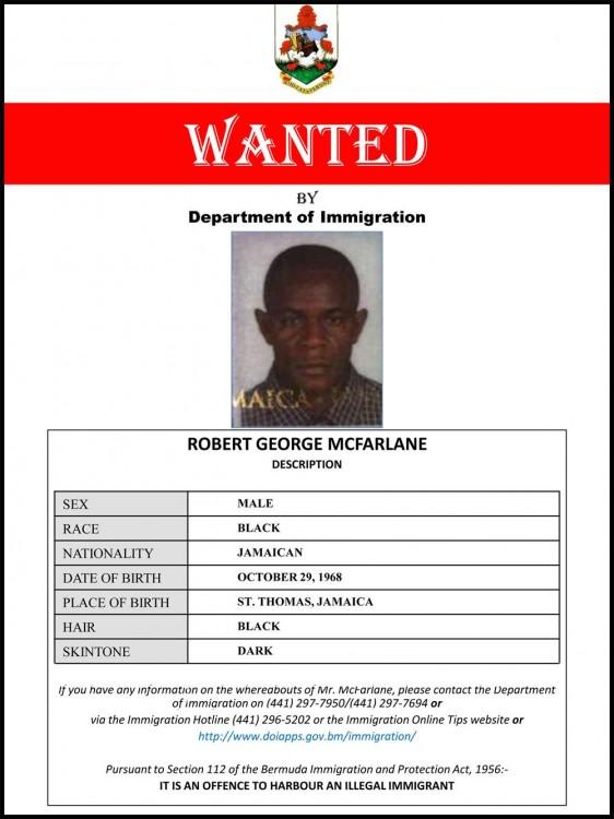 immigration wanted robert mcfarlane
