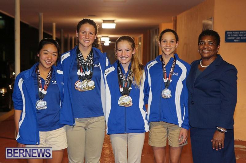 CARIFTA Swim Team Bermuda, April 9 2015-2