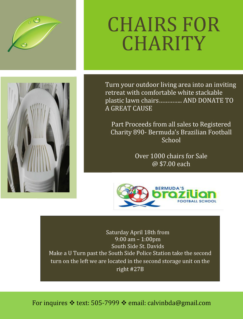 Chairs for Charity 18th