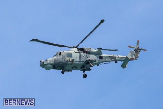 Royal Navy Helicopter Bermuda, April 15 2015-2