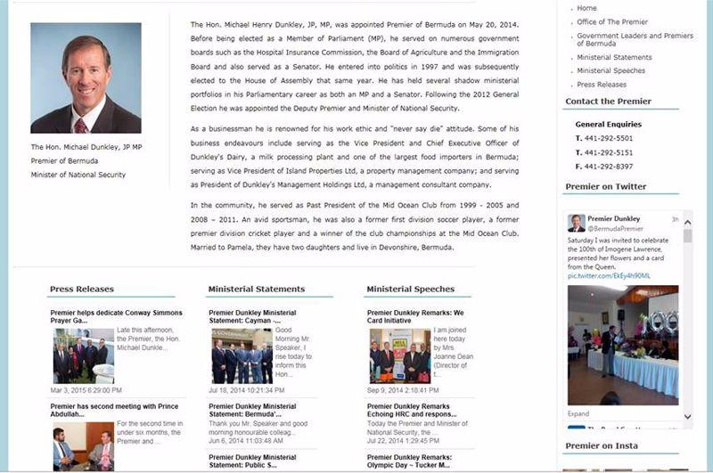 primiers website screenshot