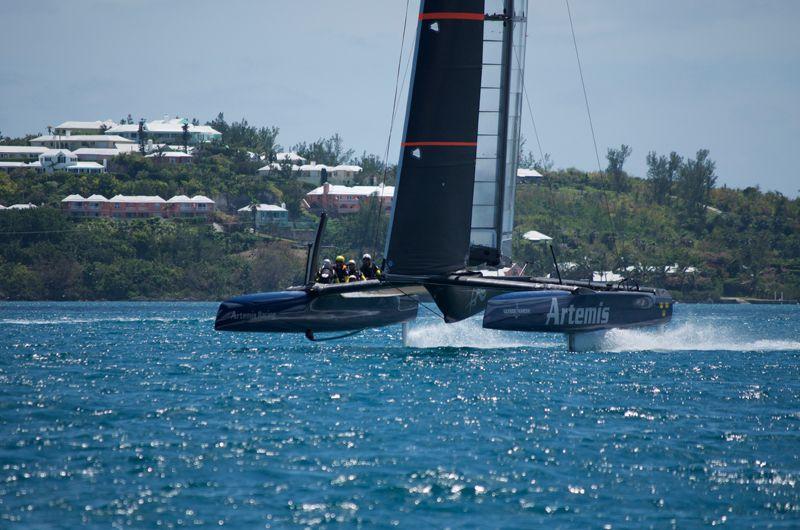 Artemis Racing Touch Down In Bermuda 1