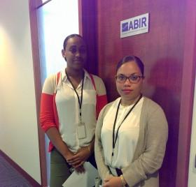 ABIR Interns Arisha Butterfield and Seta Douglas