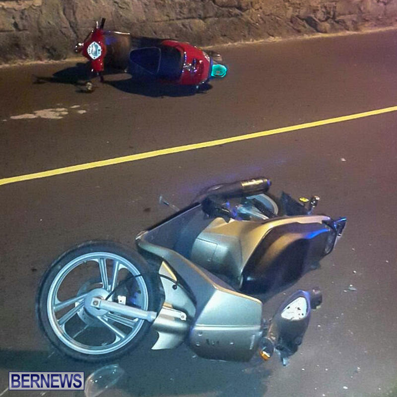 Accident Bikes Bermuda, June 19 2015-1