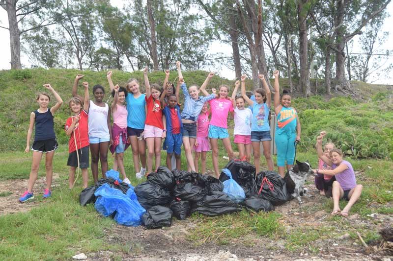 BHS beach clean-up