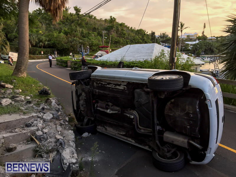 Car Accident Bermuda, June 23 2015-2