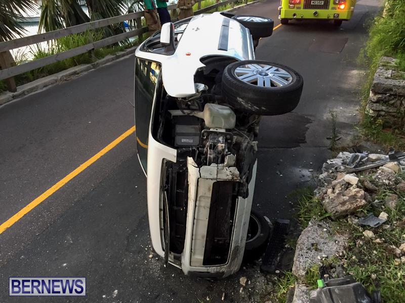 Car Accident Bermuda, June 23 2015-4