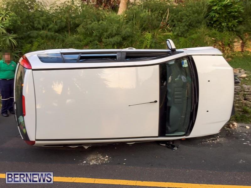 Car Accident Bermuda, June 23 2015-6
