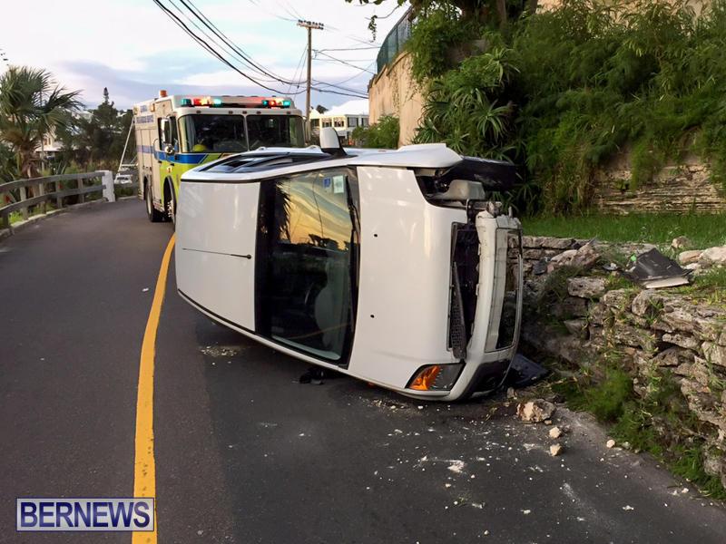 Car Accident Bermuda, June 23 2015-7