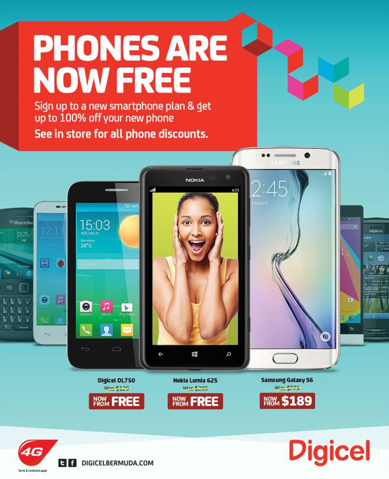 Digicel now offering phones from free-2