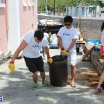 KPMG Clean Up At Dellwood School, June 5 2015 (1)
