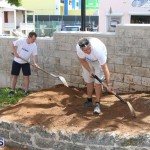 KPMG Clean Up At Dellwood School, June 5 2015 (3)