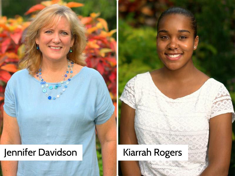 Kiarrah Rogers and Jennifer Davidson 2