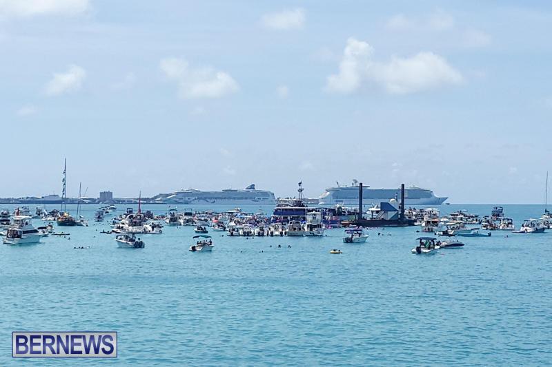 Raft Up At Bermuda National Heroes Weekend, June 15 2015-1