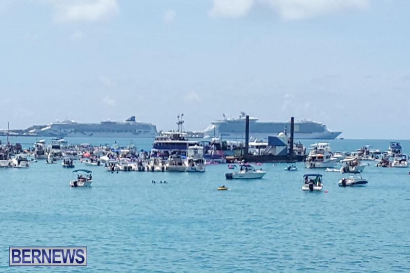 Raft Up At Bermuda National Heroes Weekend, June 15 2015-2