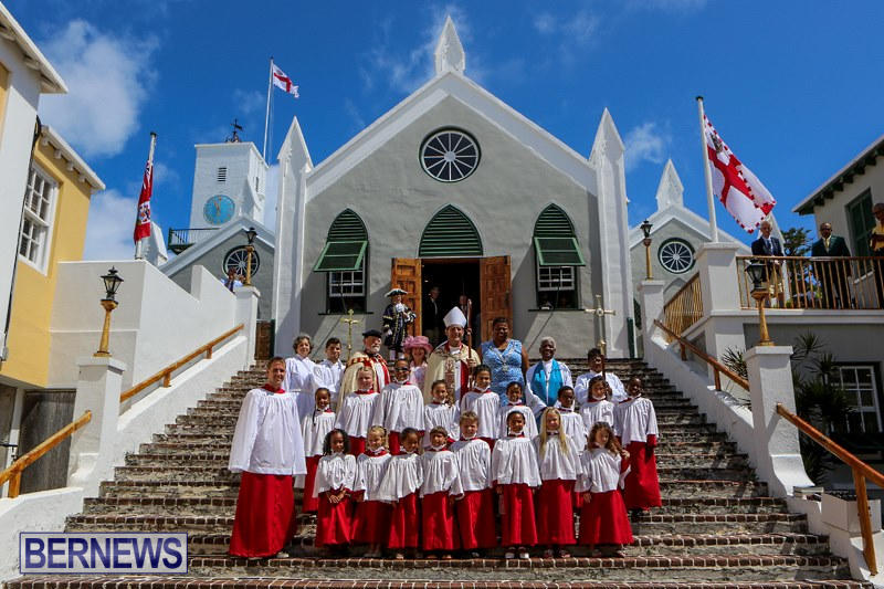 St Peter's Their Majesties Choristers Bermuda, June 28 2015-2