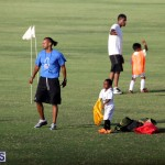140 Youth Footballers Attend Soccer Clinic July 9 2015 (1)