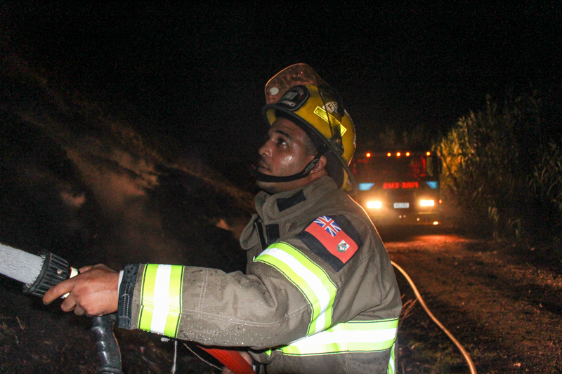 Dump Fire Bermuda, July 15 2015-1