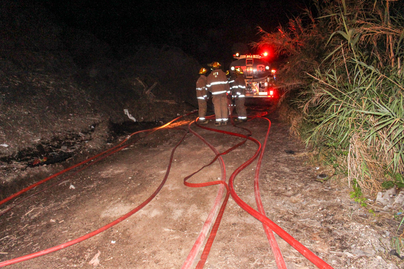 Dump Fire Bermuda, July 15 2015-2