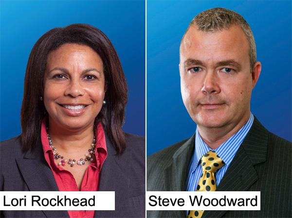 Lori Rockhead and Steve Woodward
