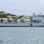 Royal Navy Ship Lyme Bay Bermuda, July 7 2015 (2)