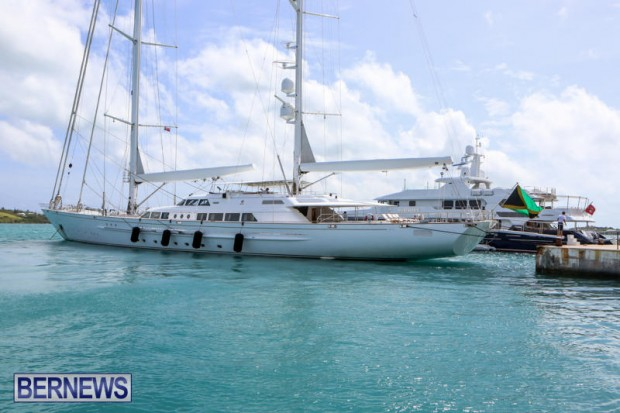 Spirit of the C's D'Natalin IV Mega Yacht Bermuda, July 21 2015-1
