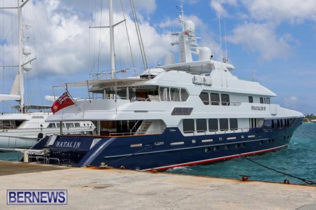 Spirit of the C's D'Natalin IV Mega Yacht Bermuda, July 21 2015-12