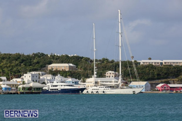 Spirit of the C's D'Natalin IV Mega Yacht Bermuda, July 21 2015-15