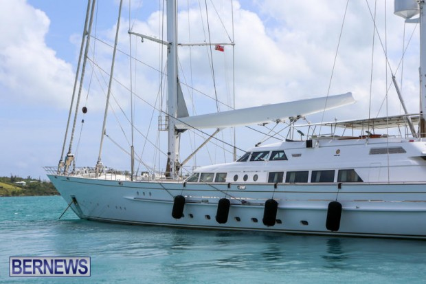 Spirit of the C's D'Natalin IV Mega Yacht Bermuda, July 21 2015-3