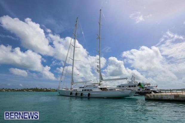 Spirit of the C's D'Natalin IV Mega Yacht Bermuda, July 21 2015-4