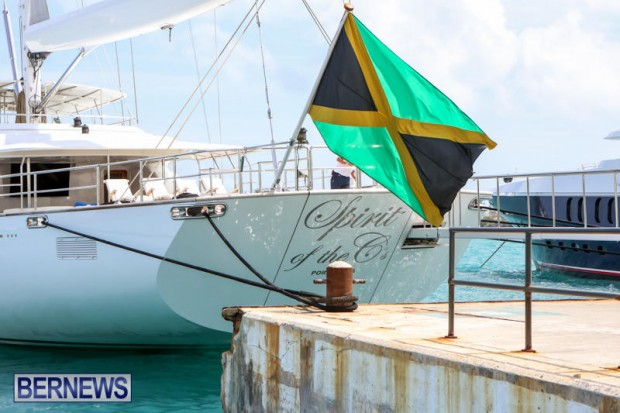 Spirit of the C's D'Natalin IV Mega Yacht Bermuda, July 21 2015-6