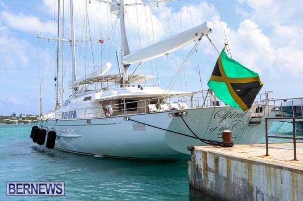 Spirit of the C's D'Natalin IV Mega Yacht Bermuda, July 21 2015-7