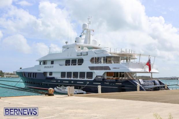 Spirit of the C's D'Natalin IV Mega Yacht Bermuda, July 21 2015-8