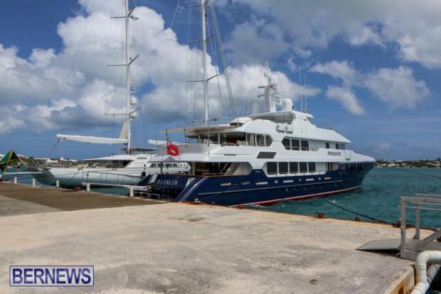 Spirit of the C's D'Natalin IV Mega Yacht Bermuda, July 21 2015-9